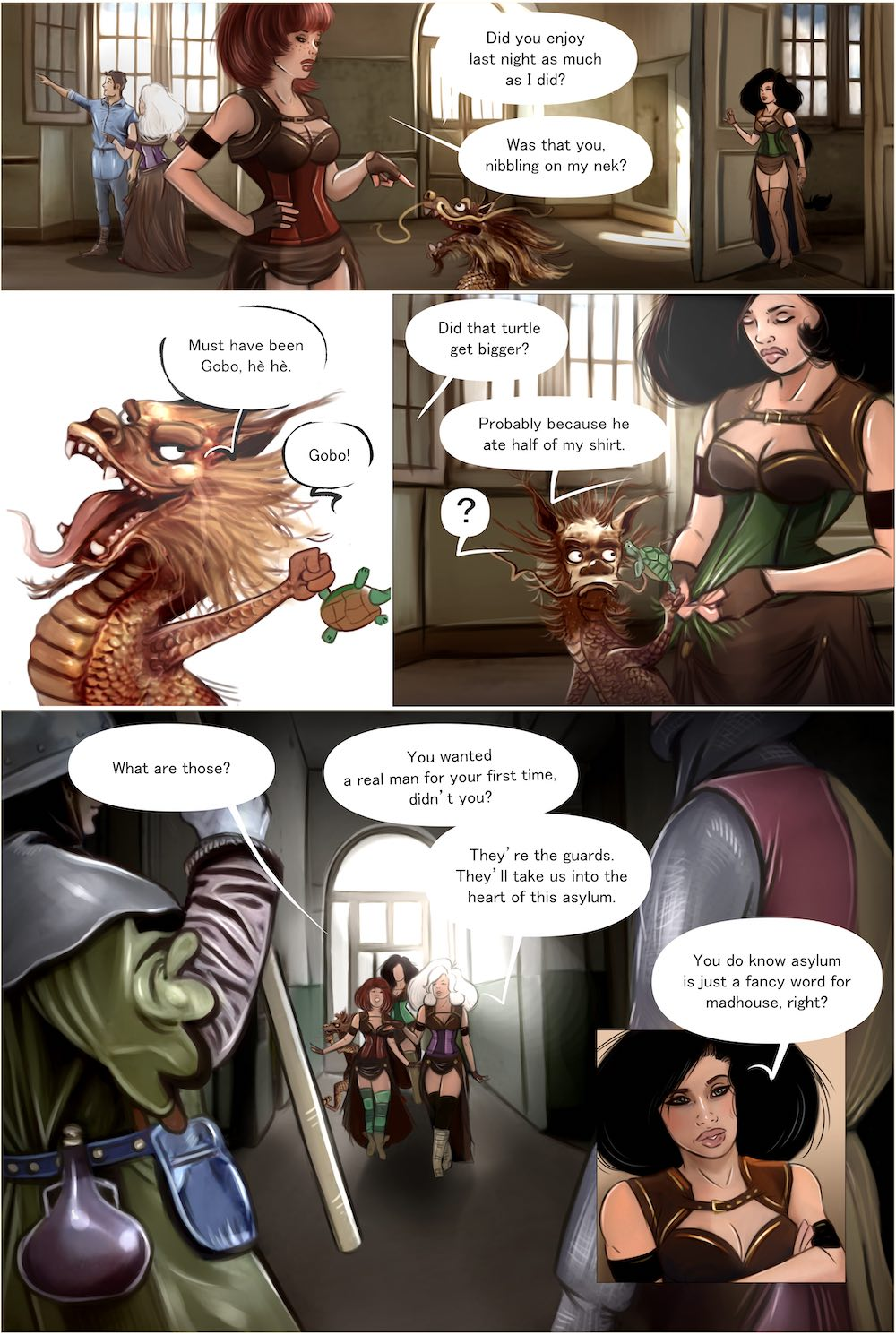 Page 21 of lyscomic